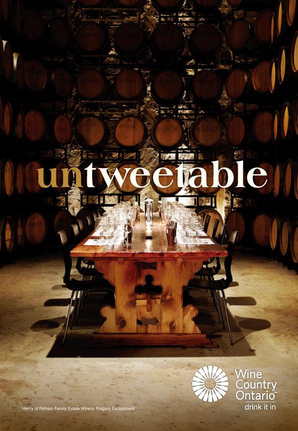 WINE COUNCIL OF ONTARIO - Tweet the 'untweetable'