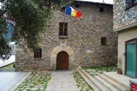 Casa de la Vall Side Entrance